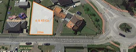 Building land for sale - Katermeerstraat 57<br /> 3583 Beringen