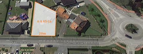 Terrain constructible à vendre - Katermeerstraat 57<br /> 3583 Beringen
